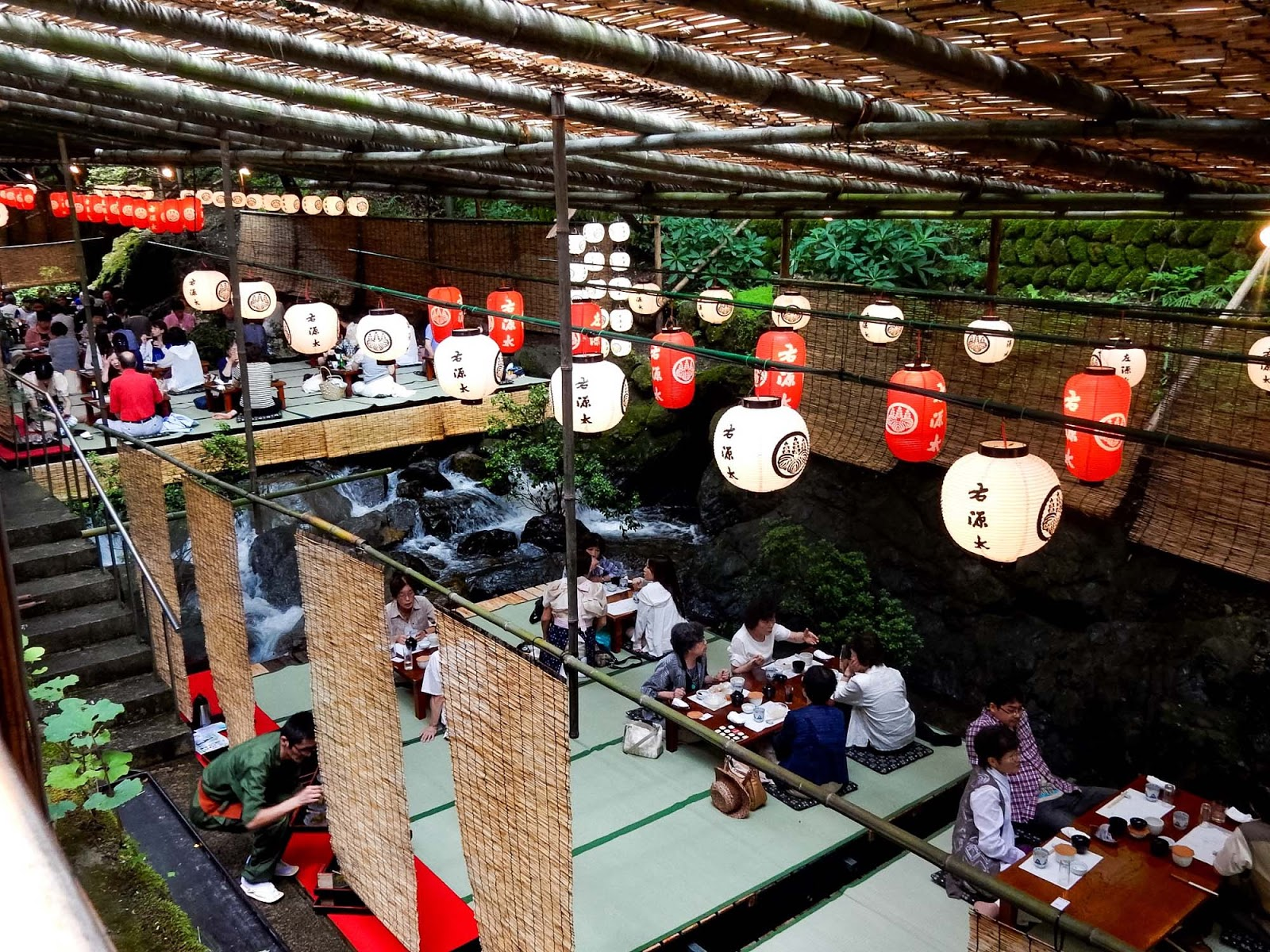 kibune waterfall restaurant