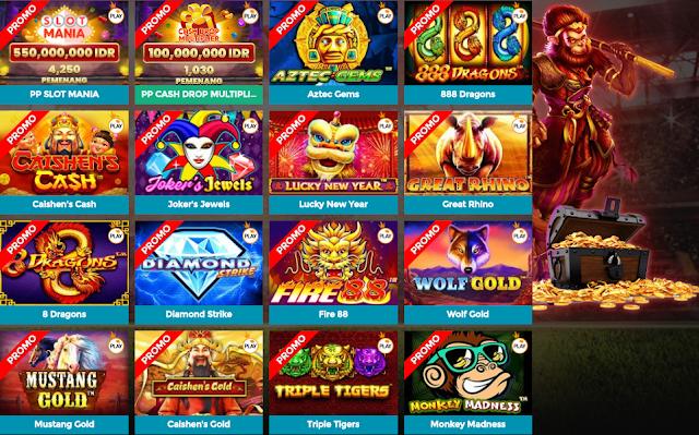Bintang88 menyediakan permainan Slot online terkenal dari perusahaan Pragmaticplay yang menyediakan 127 permainan slot game terbaik dengan promo fitur terpicu & jackpot terbanyak. Tersedia juga metode deposit pulsa tanpa potongan tanpa batas.