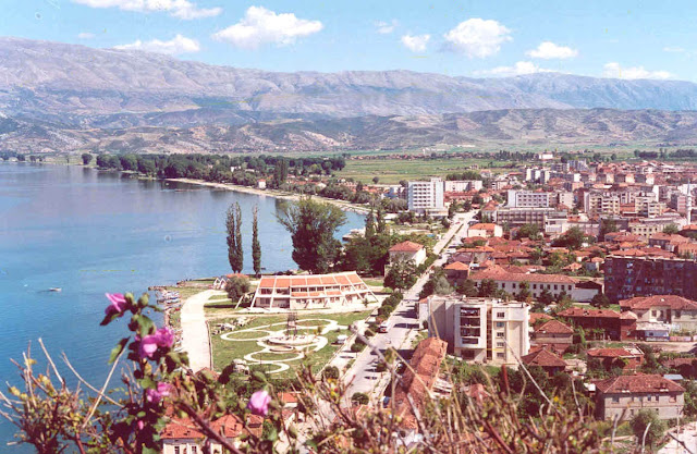 Pogradec en Albania