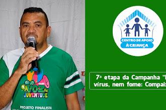 7ª etapa da Campanha Nem vírus, nem fome: Compaixão