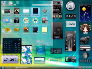 Seribu Gadget Dekstop Windows 7