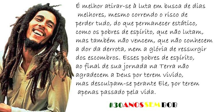 Frases De Bob Marley: Mensagens Da Net: Frases Do Bob Marley Pensamentos