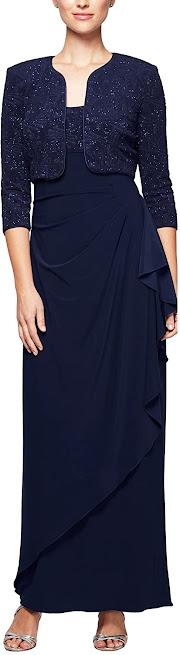 Best Navy Blue Mother of The Groom Dresses