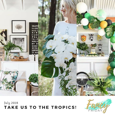 Fancy Friday Tropical Vibe Inspiration