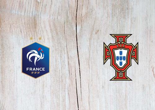 France vs Portugal -Highlights 11 October 2020