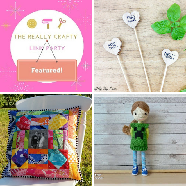 The Really Crafty Link Party #123 featured posts