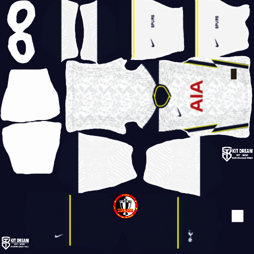 Kits Tottenham Hotspur 2021 - Dream League Soccer 2021