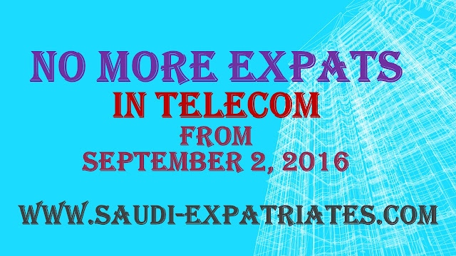 EXPATS SHOULD NOT BE IN TELECOM SECTOR FROM SEPT 2