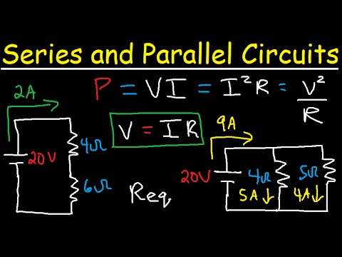 What is the difference between series and parallel circuits