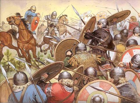 [Image: Visigoths_and_Ostrogoths_fightingryansgallery.jpg]