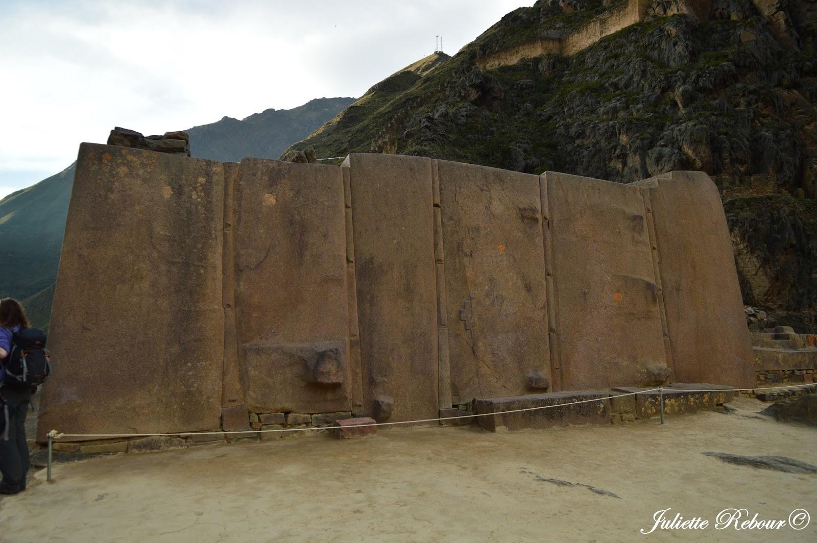Templo del Sol, Ollantaytambo