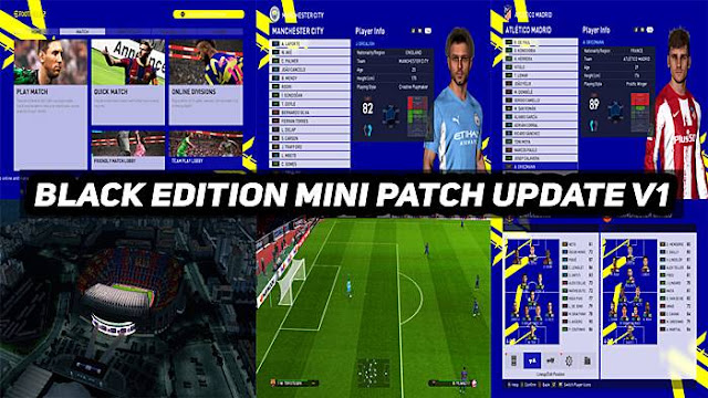 PES 2017 Black Edition Patch 2022 AIO + Update V1
