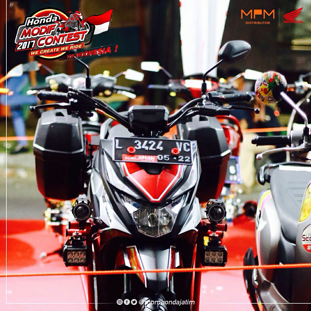 Modifikasi Honda Beat Street Ala Touring