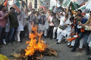 bihar-congress-protest