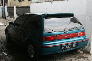DIJUAL Honda Nouva 1989 Baru Turun Mesin - BANDUNG