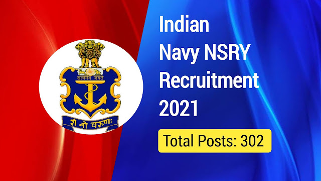 Indian Navy NSRY Recruitment 2021: