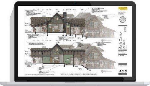 تحميل برنامج الرسم مثل الهندسة المعمارية والمدنية والهندسية SketchUp Pro 2020 v20.1.235