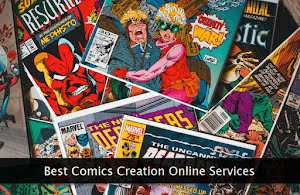 A collection of comics