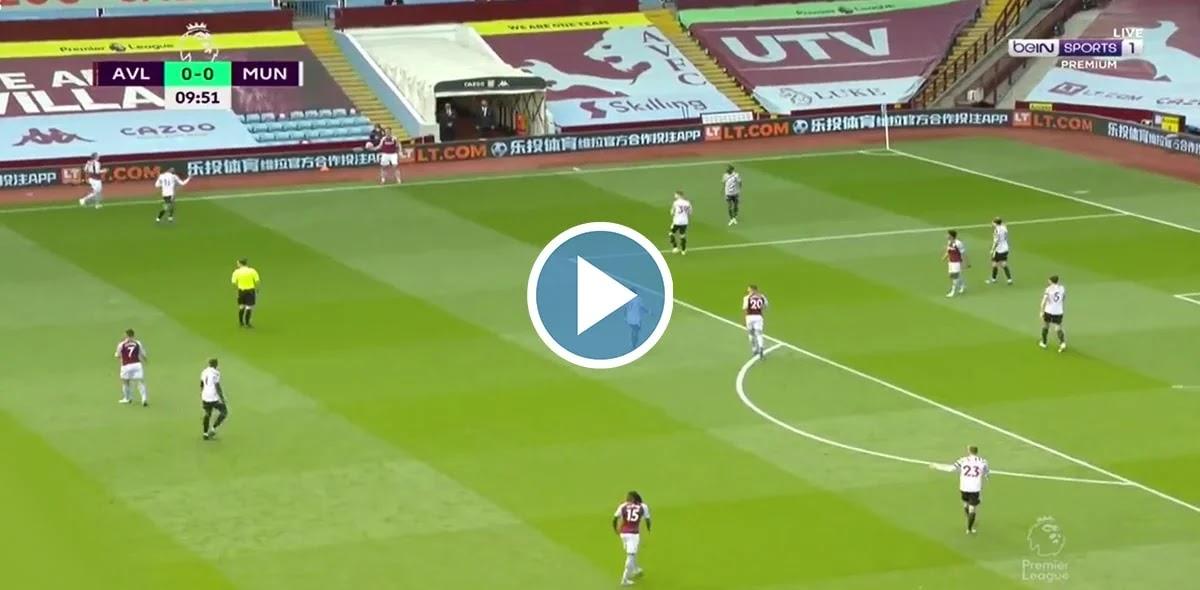 Aston Villa vs Manchester United Live Score