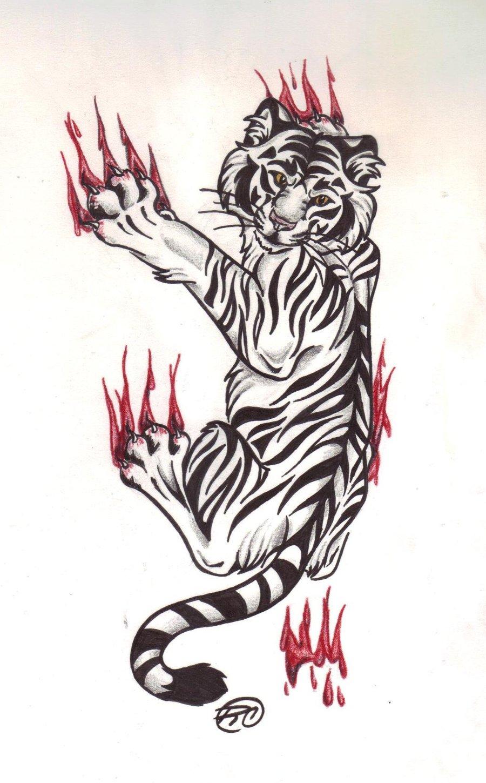 tiger tattoo pattern22