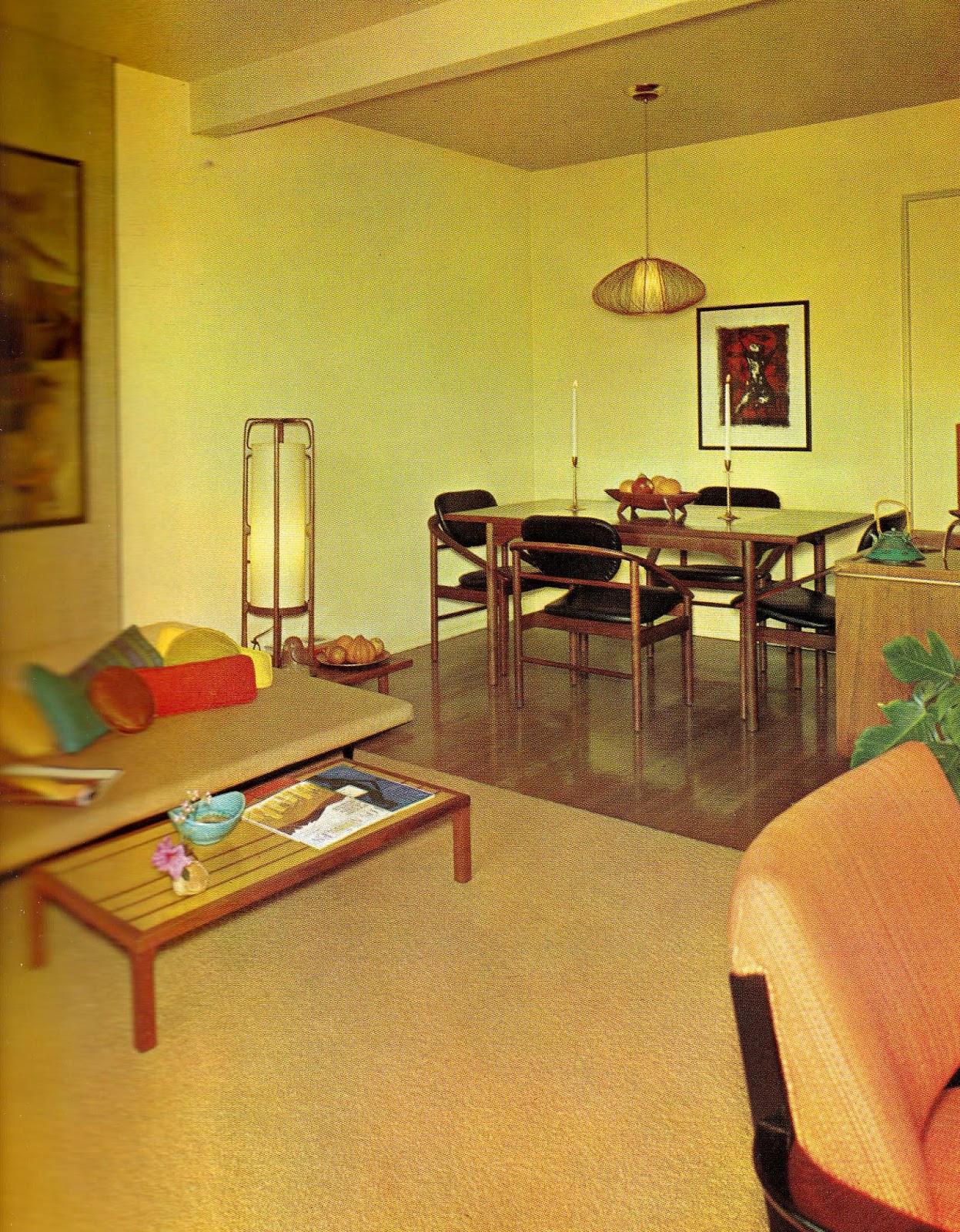 interior 1960s decor interiors decoration sixties were everyday psychedelia apex 1965