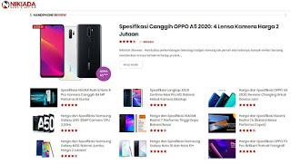 Lihat Harga Hp Terbaru Cek di Nikiada.com Aja !
