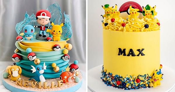 🎂 Tartas de Cumpleaños de Pokémon
