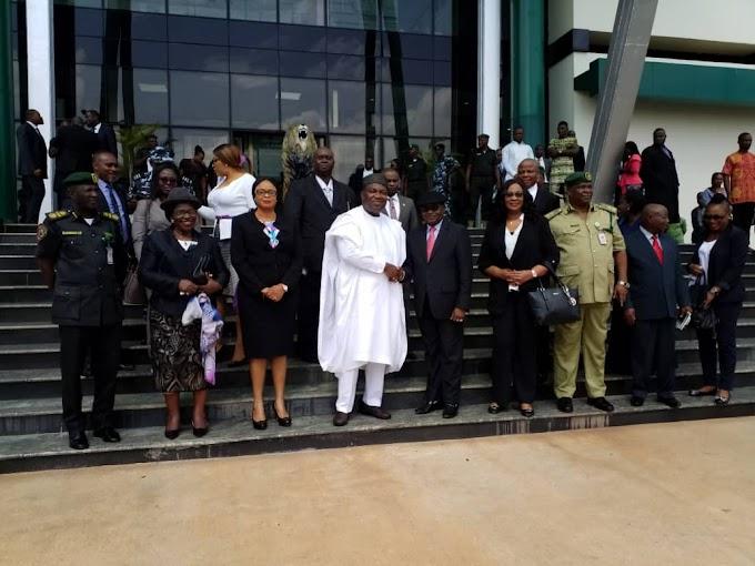 Administration of Criminal Justice Act: FCT CJ Hails Gov. Ugwuanyi