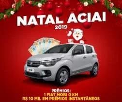 Promoção Aciai Irati Natal 2019 Carro 0KM e 10 Mil Reais Prêmios Na Hora