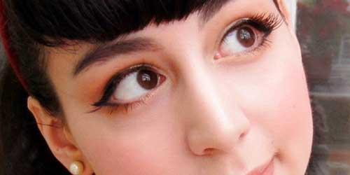 como maquillar los ojos pequeños