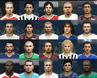 PES 2016 Classic Facepack update April 2016