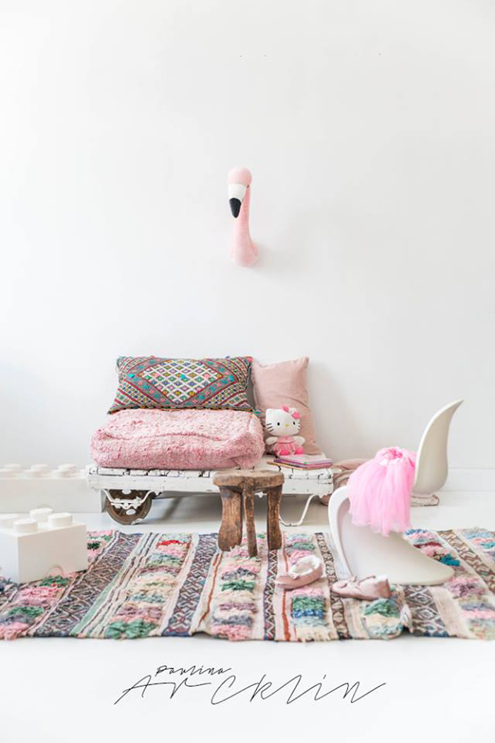 El Ramla Hamra carpets & poufs for the Kids rooms