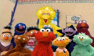The Count, Prairie Dawn, Baby Bear, Rosita, Grover, Cookie Monster, Telly, Zoe, Ernie and Bert appears in Sesame Street Elmo's World Friends.
