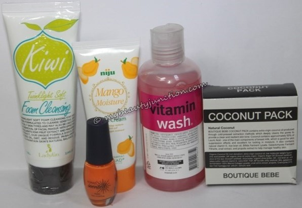 Memebox Scent Bundle 2 review, unboxing: Tropical Fruits, Sweet Shop, Floral beauty boxes