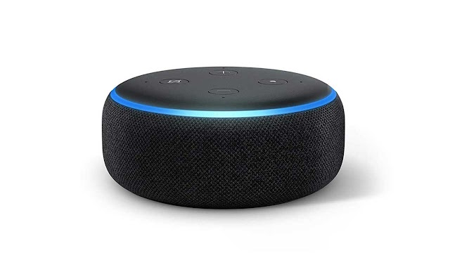 Echo Dot 3rd Gen Smart Speaker with Alexa