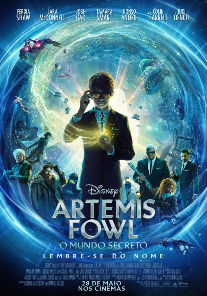 Artemis Fowl - Poster Nacional