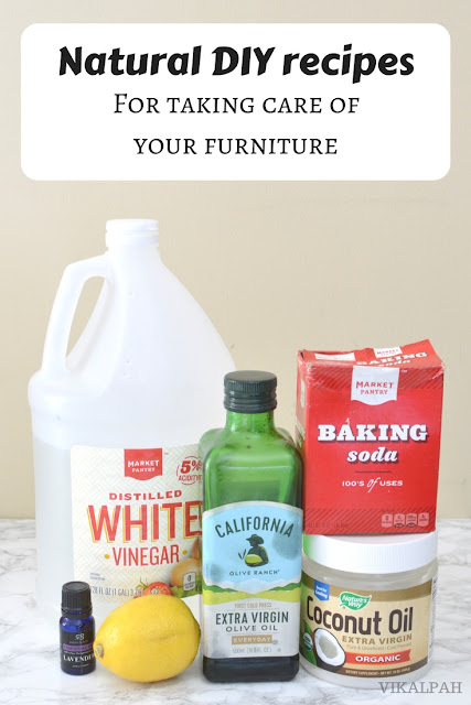 Natural DIY Recipes for Taking Care of Your Furniture