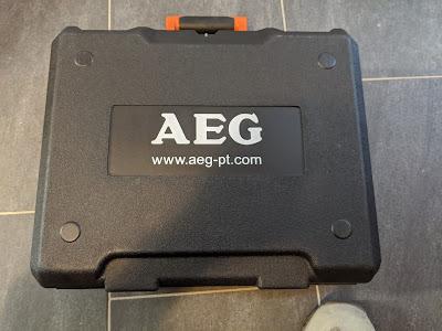 AEG Winkelschleifer Transportkoffer