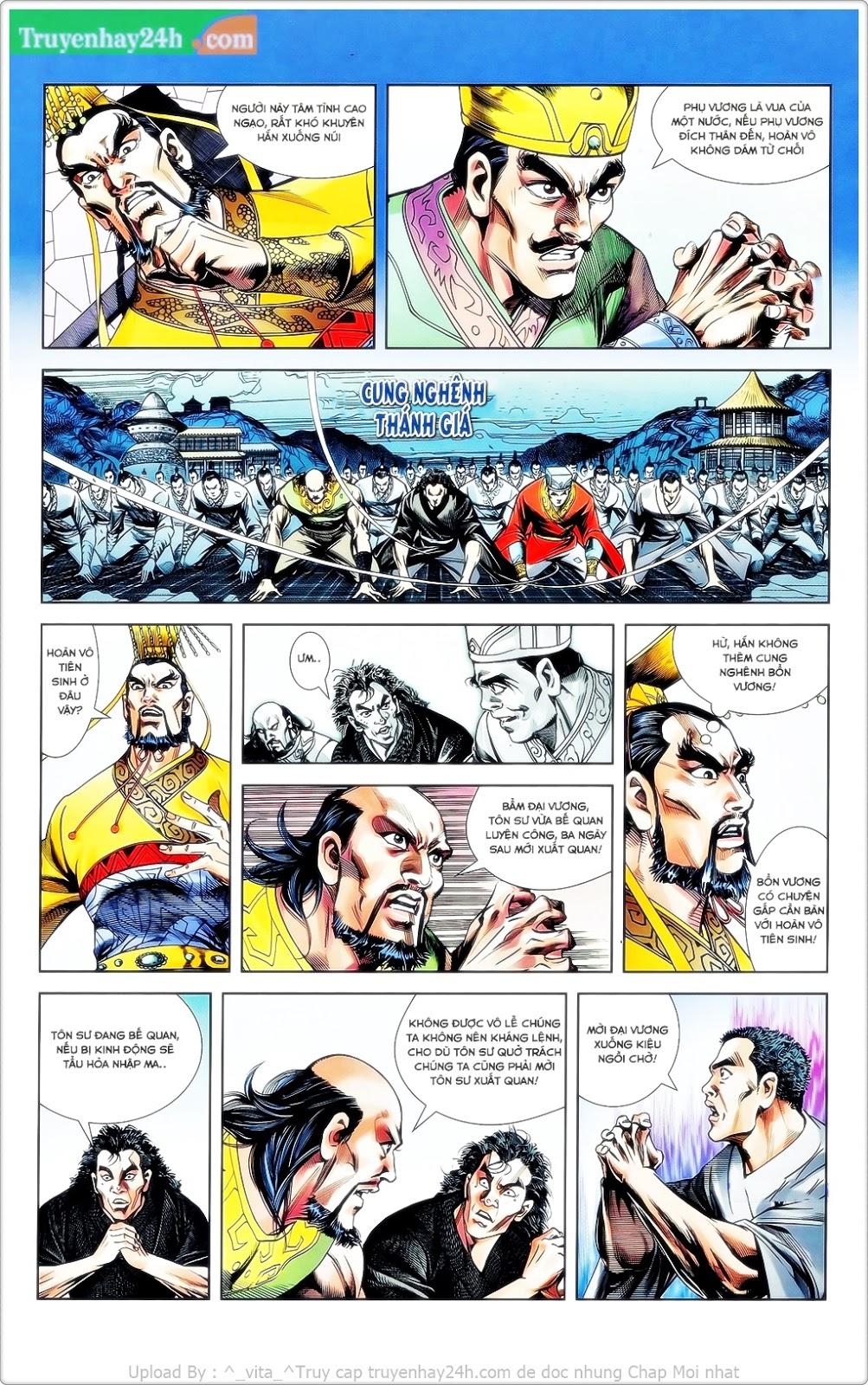 Tần Vương Doanh Chính chapter 23 trang 8