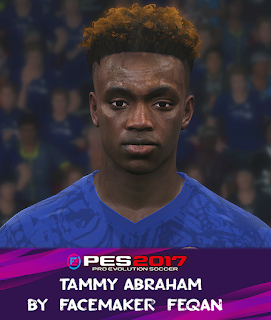 PES 2017 Faces Tammy Abraham by Feqan