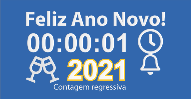 Contagem regressiva para final de ano