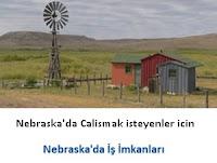 Nebraska'da çalışmak isteyeyenler, Nebraska iş imkanları, Nebraska part-time işler, Nebraska jobs