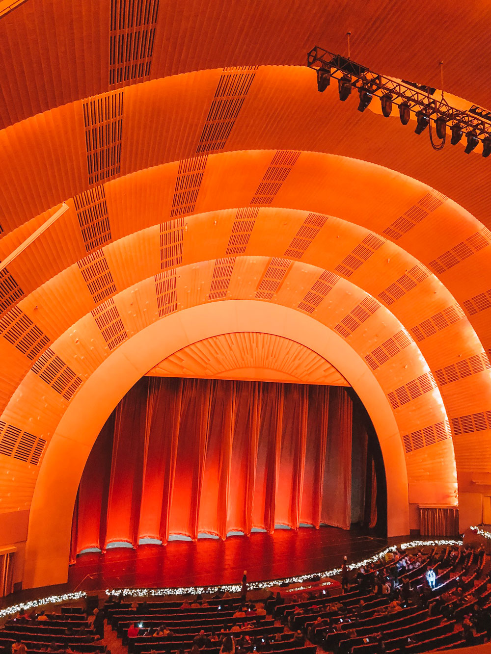 Radio City Music Hall Mezzanine View