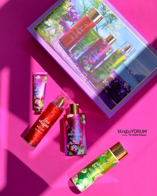 body care collection golden rose