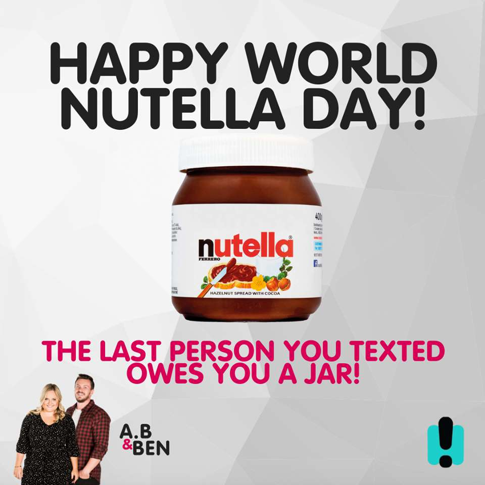 World Nutella Day Wishes Lovely Pics