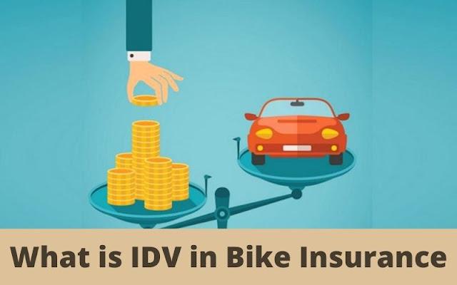 What is IDV in Bike Insurance