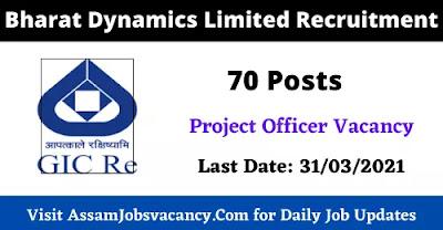 Bharat Dynamics Limited Recruitment