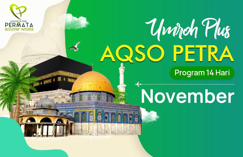 Promo Paket Umroh plus aqso Biaya Murah Jadwal Bulan November 2020