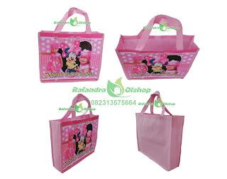 tas ultah,tas souvenir ultah,tas ulang tahun,tas ultah minnie mouse,tas souvenir ultah minnie mouse murah
