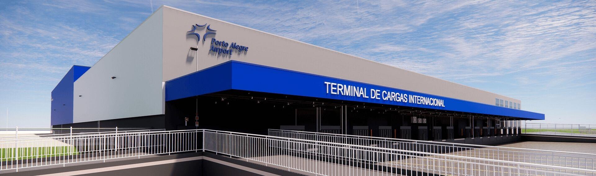 Porto Alegre Airport recebe novo Terminal de Cargas Internacional